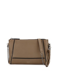 Botkier Soho Zipper Detail Crossbody Bag Olive