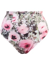 Fleur Du Mal High Waisted Bikini Bottoms Multicolour