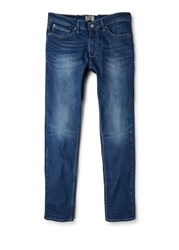 Mango Men's Slim Fit Medium Wash Tim Jeans Blue