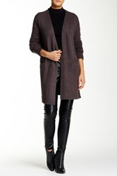 Romeo And Juliet Couture Oversized Cardigan Gray