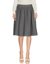 Libertine Libertine Knee Length Skirts Grey