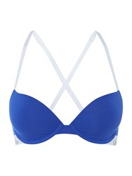 Calvin Klein Ck One Cotton T Shirt Bra Royal Blue