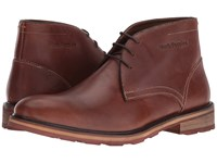 Hush Puppies Benson Rigby Ice Tan Waterproof Leather Men's Shoes