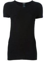 Giorgio Armani Fitted T Shirt Black