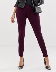 Dl1961 Margaux High Rise Skinny Jean Purple