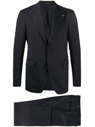 Tagliatore Two Piece Formal Suit Blue
