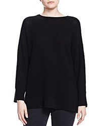 The Kooples Cashmere Boat Neck Sweater Black