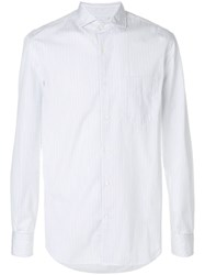 Aspesi Patch Pocket Shirt Cotton White