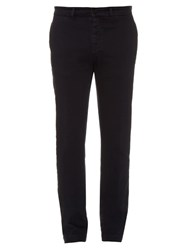 Massimo Alba Slim Fit Stretch Cotton Blend Trousers