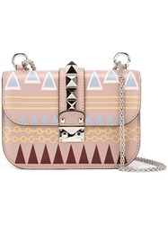 Valentino 'Glam Lock Russian Ballet' Shoulder Bag Nude Neutrals