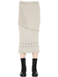 Damir Doma Wool And Alpaca Knit Skirt
