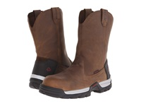 Wolverine Tarmac 10 Safety Toe Wellington Brown Men's Work Boots