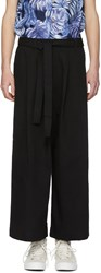 Naked And Famous Denim Ssense Exclusive Black Wide Pants