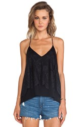 Lovers Friends Poppy Lace Cami Black