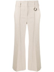 Dorothee Schumacher Cropped Hoop Detail Trousers 60
