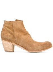 Officine Creative Ankle Boots Brown