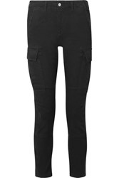 Amiri High Rise Slim Leg Jeans Black
