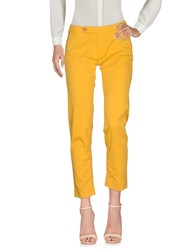 True Nyc. Casual Pants Yellow