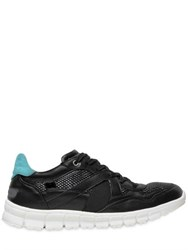Dolce And Gabbana Superlight Leather Running Sneakers