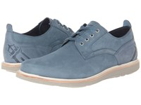 Rockport Eastern Parkway Plain Toe Low Real Teal Men's Lace Up Casual Shoes Blue