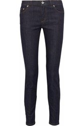Red Valentino Low Rise Skinny Jeans Dark Denim