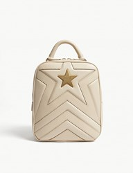 Stella Mccartney Small Star Backpack Cream