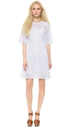 Temperley London Mini Marine Dress White