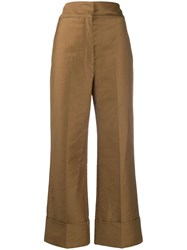 Christophe Lemaire High Rise Straight Trousers 60