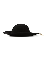 Lanvin Gold Chain Hat Black