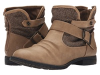 Blowfish Trios Sand Texas Pu Tan Bond Herringbone Women's Pull On Boots