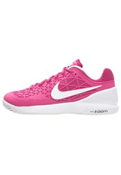 Nike Performance Zoom Cage 2 Outdoor Tennis Shoes Vivid Pink White Black