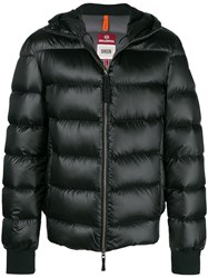 Parajumpers Hooded Puffed Jacket Black