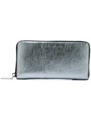 Marc Jacobs 'Wingman' Continental Wallet Grey
