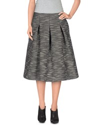 Essentiel Skirts Knee Length Skirts Women Black