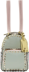 Valentino Green Watercolor Mini Rockstud Backpack