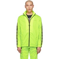 Off White Yellow Tracktop Jacket