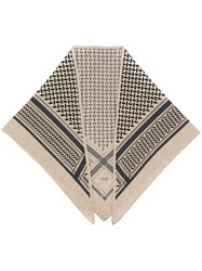 Lala Berlin Triangle Neo Scarf Women Cashmere One Size Brown