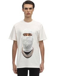 Ih Nom Uh Nit Future Archive Cotton Jersey T Shirt White