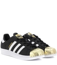 Adidas Superstar 80S Leather Sneakers Black