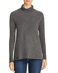 B Collection By Bobeau Imogen Turtleneck Sweater Charcoal Grey