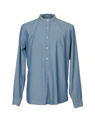 Agho Denim Shirts Blue