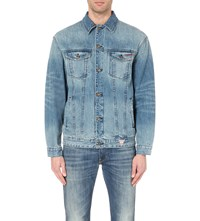 Guess X A Ap Rocky Denim Jacket Degard Wash