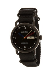 Jack Spade Men's Conway Watch Black