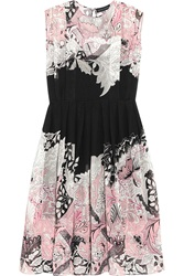 Jonathan Saunders Marlow Printed Silk Georgette Dress