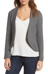 Amour Vert Women's Shely Collarless Ponte Blazer