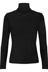 N.Peal Cashmere Cashmere Turtleneck Sweater Black