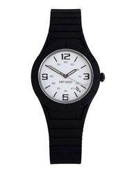 Hip Hop Timepieces Wrist Watches Men Black