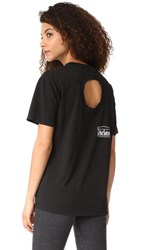 Aries Confused Temple Logo Tee Black