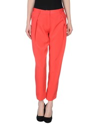Maison Rabih Kayrouz Trousers Casual Trousers Women Coral
