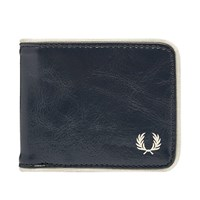 Fred Perry Classic Billfold Wallet Blue